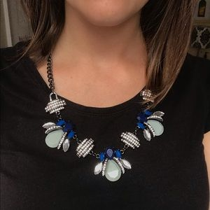 Funky Geometrical Statement Necklace